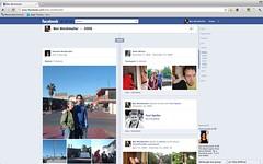 Facebook timeline: 2006