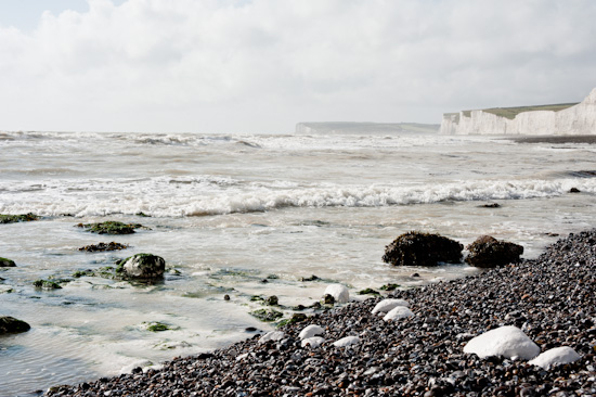 Seashore at Beachy Head