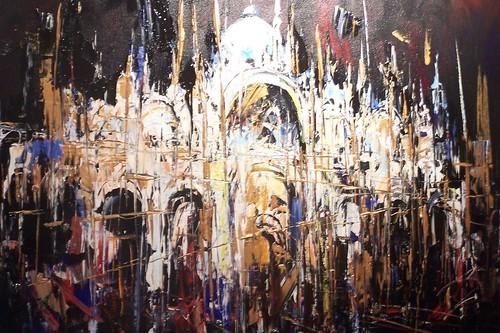 Venice   Painting - Original