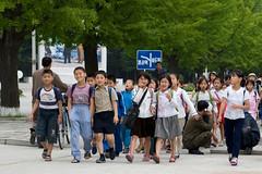 School children (Airborne Observator) Tags: pictures travel travelling children photo asia propaganda kimjongil backpacking asie schoolchildren coree northkorea dictatorship corea dprk juche kimilsung wonsan socialistrepublic coreadelnord coreedusud dpkr rdpc rpdc jucheidea coreiadonorte volksrepubliknorthcorea stalinistideology people´srepublickorea