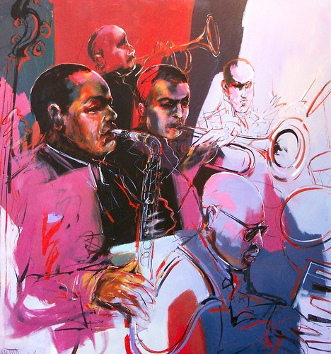 Hot Jazz - Painting