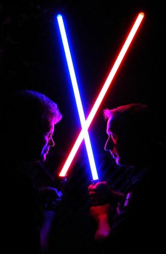 Friendly Saber Duel by xddorox, on Flickr