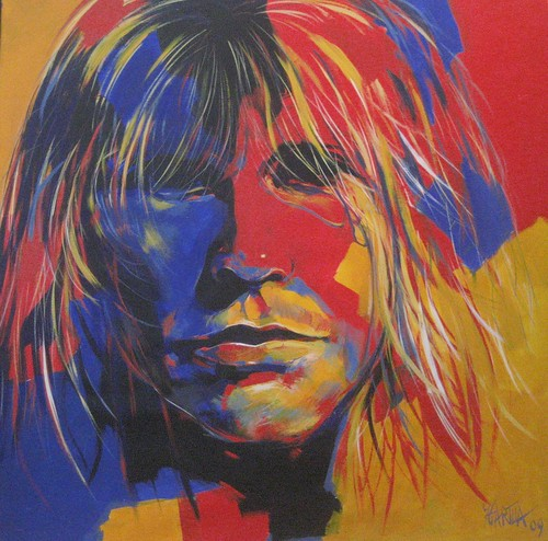 Cobain - Painting - Modern Expressionism