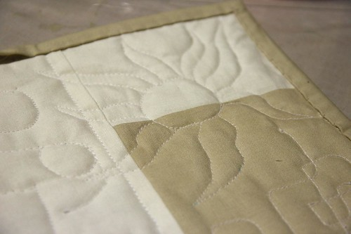 Practice Quilt (Back)