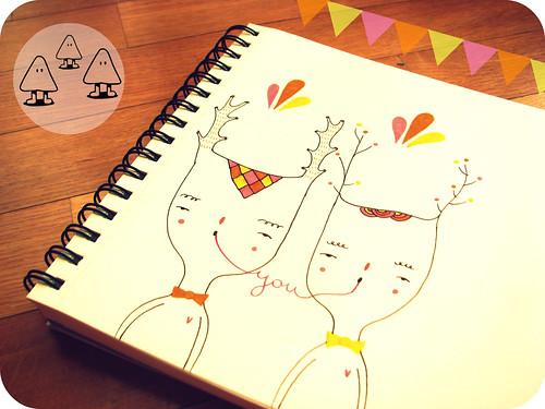 whimsical lovers by Mafa+