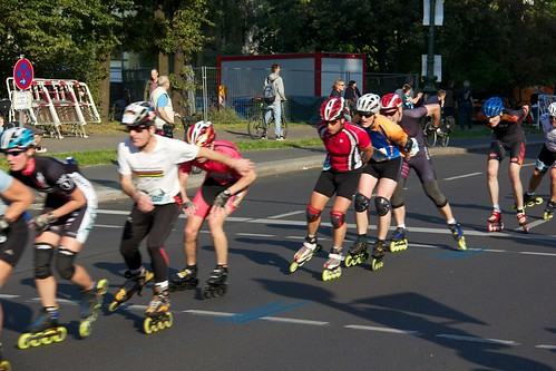 38th BMW Berlin Marathon Inline Skating