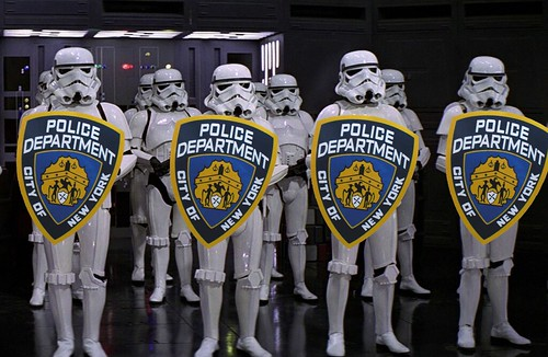 NYPD STORM TROOPERS by Colonel Flick