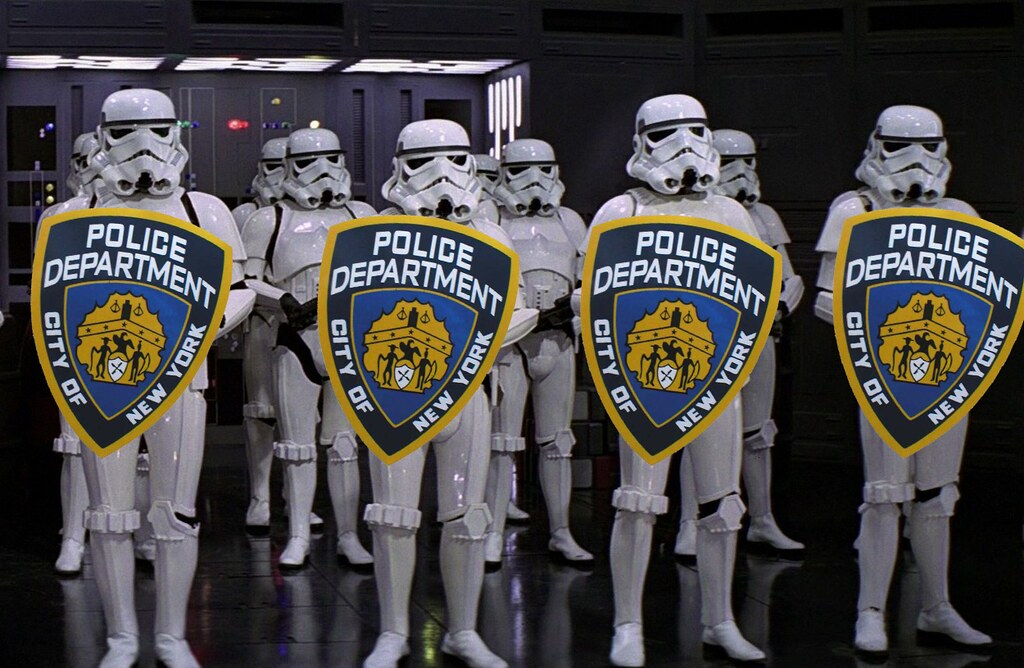 NYPD STORM TROOPERS