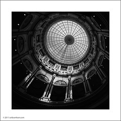 Trafford Centre, Manchester (Ian Bramham) Tags: light blackandwhite bw art architecture manchester photo shadows fine dome traffordcentre ianbramham welcomeuk