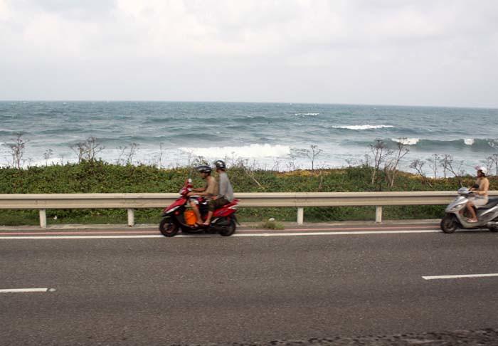 Дорога вдоль Тихого океана