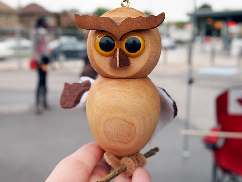 the owl at the Market