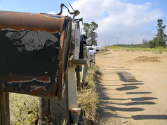 Rusty Mailboxes (ColinWithaT) Tags: mailbox mail box mailboxes boxes nikonflickraward