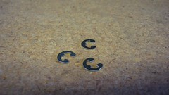 Cissell F888 e retaining ring clips for 3/16 pin RE-18