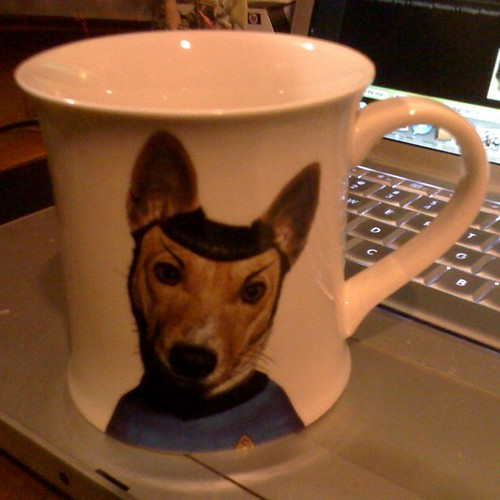 Famous Faces Spock mug
