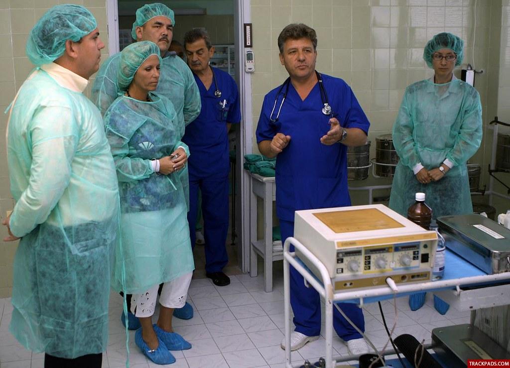 Airmen donate medical equipment to Bulgarian hospital