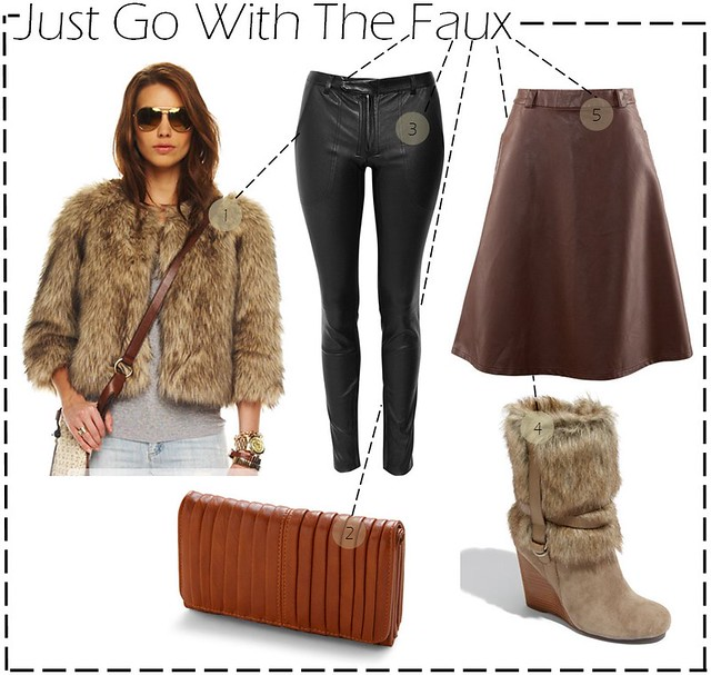 go with the faux