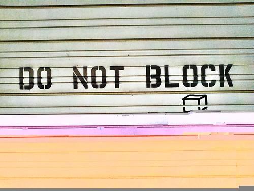 blocked by Divine Harvester, on Flickr