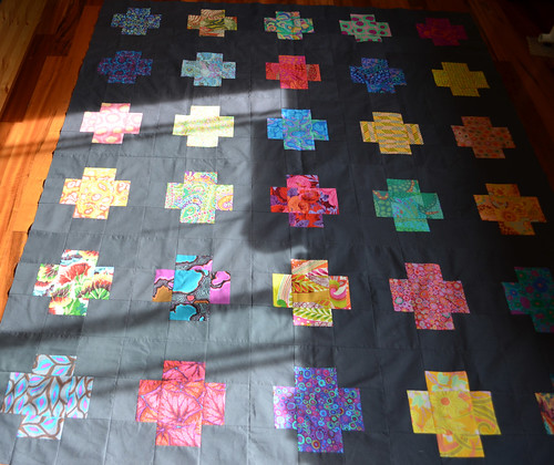 Across the Sea QAL - quilt top done