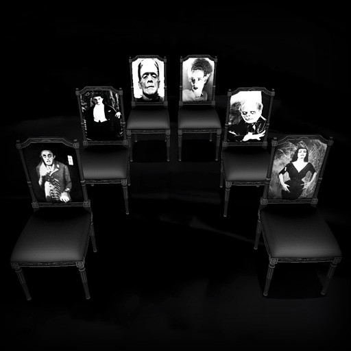 75 L Horror Icon Chairs