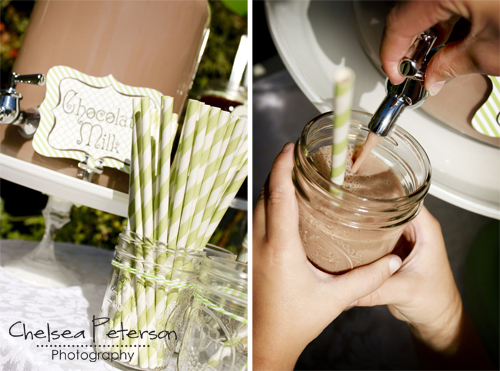 ice-cream-parlor-birthday-party-chocolate-milk-mason-jar-glasses