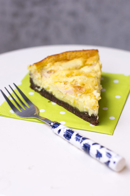 Õuna-juustukook / Apple cheesecake