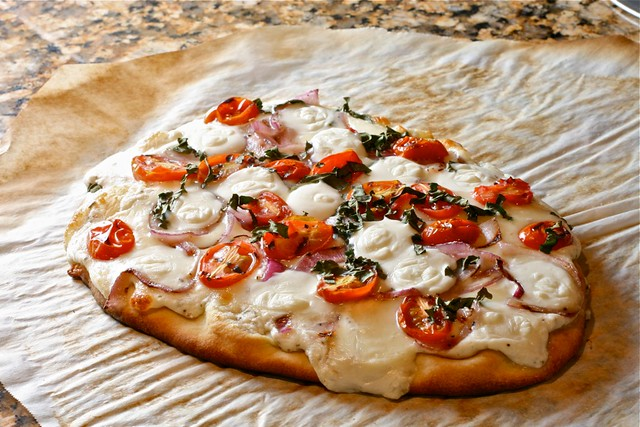 Flatbread Naan Pizza