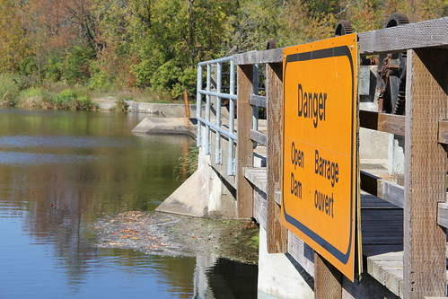 Danger Open Dam