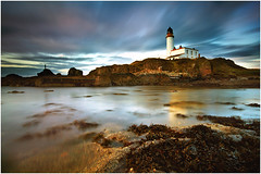 Turnberry Lighthouse (Jim Richmond) Tags: sea lighthouse scotland lee ayrshire turnberry 10stop