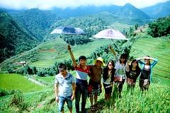 Friends on a Hill (staminajim) Tags: friends mountains film 35mm vietnam olympusom1 sapa