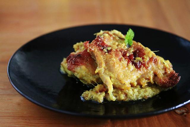 Ayam Panggang Santan Kuning - Grilled Chicken in Creamy Turmeric Sauce