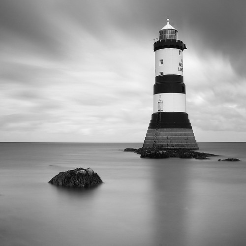 Standing Tall: Penmon Point, Anglesey by TheRedTone