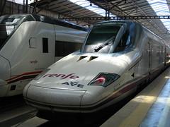 Bullet train in Spain (Loco_2) Tags: spain trains highspeed renfe