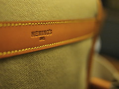 Heming's - Suntatsu Medium Field Bag   (9)