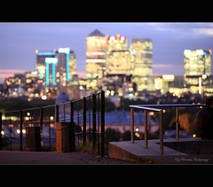 Looks like balls from here (pic fix) Tags: uk urban blur colour london skyline buildings landscape lights evening focus view bokeh dusk greenwich scenic landmark depthoffield canarywharf greenwichpark 2011 canonphotography bokehwhores scenicsnotjustlandscapes