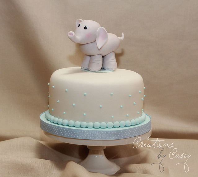 Elephant Themed Baby Shower