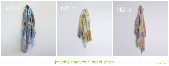 {crush} scarf shop