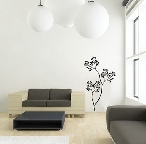 Living-Room-Japanese-Flower-Wall-Decals
