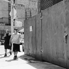 Destination Known (bradmo) Tags: street nyc newyorkcity blackandwhite bw newyork manhattan fujifilm x100