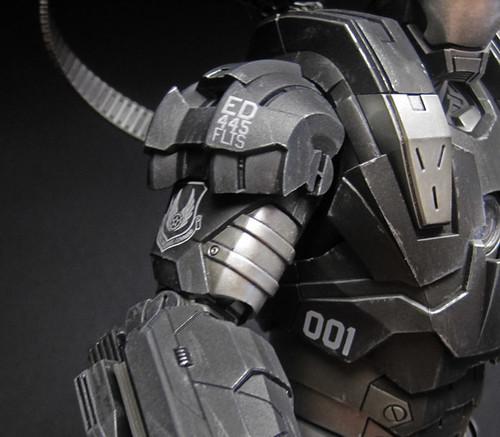 Custom Hot Toys War Machine