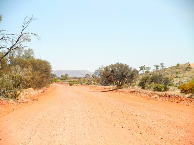 Dirt road in the Outback, Northern Territory Australia