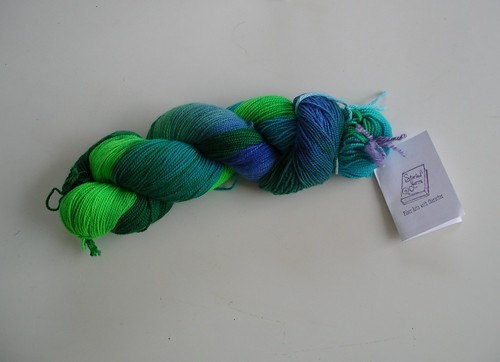 I won some yarn!
