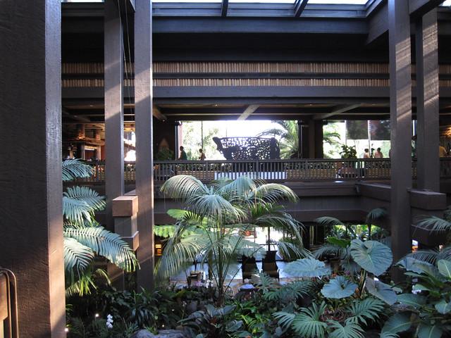 Polynesian Lobby Atrium
