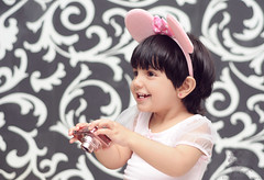 """R"" .. (Rawan Mohammad ..) Tags: pink boy portrait baby cute art girl kids photography nikon artist photographer child little photos mohammed niko mohammad rn   2011  rawan            d300s rnona"