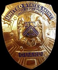 US Mint Guard badge