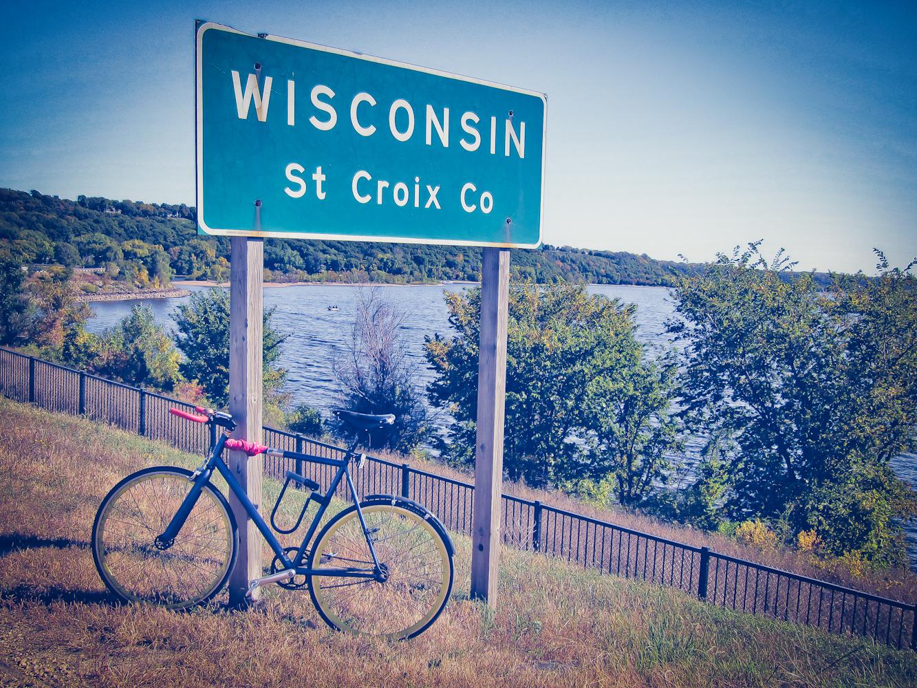 Now Entering Wisconsin