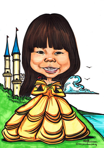 Princess caricature