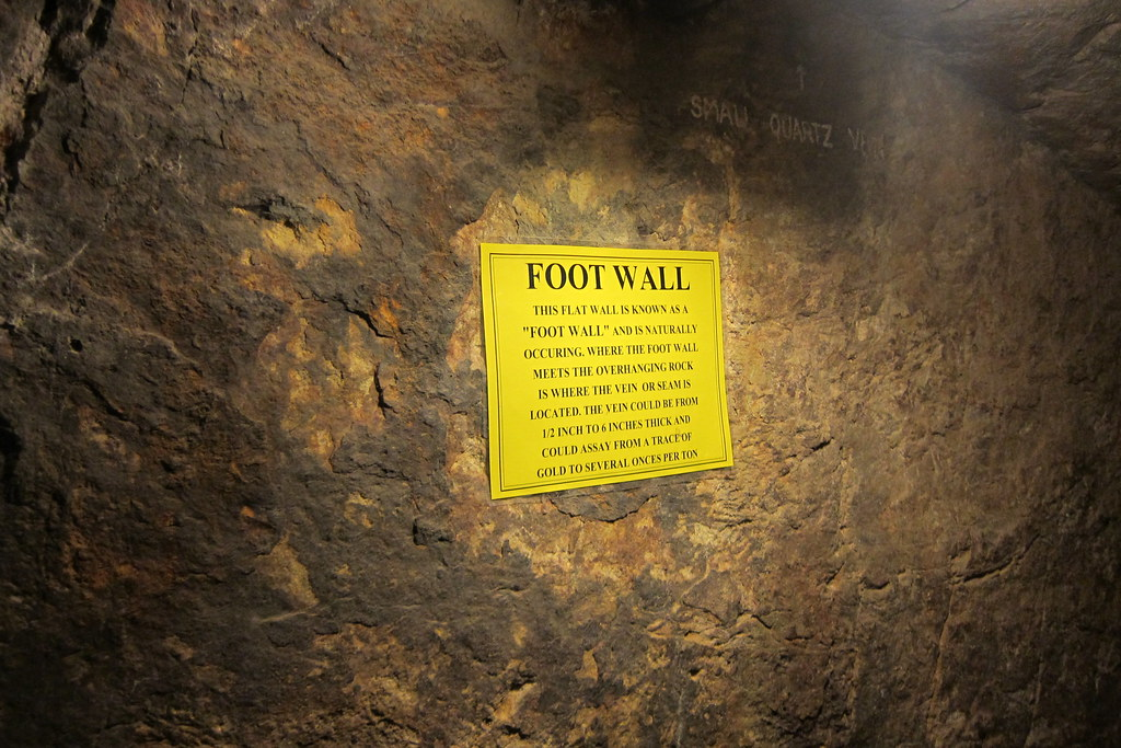 Colorado - Idaho Springs: Argo Gold Mine and Mill - Double Eagle Gold Mine - Foot Wall