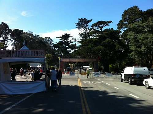 Plenty Of Bike Parking At Hardly Strictly Bluegrass Festival 2011 In San Francisco's Golden Gate Park