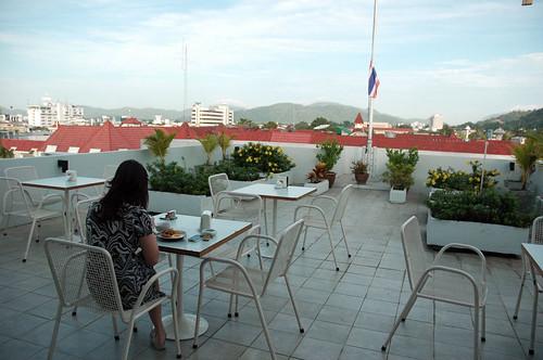Sino-House Phuket Hotel - Breakfast Balcony