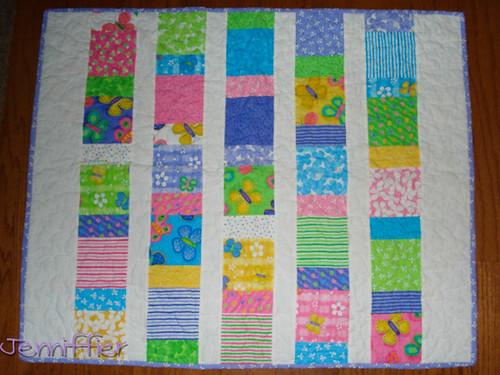 Hanna's Butterfly quilt